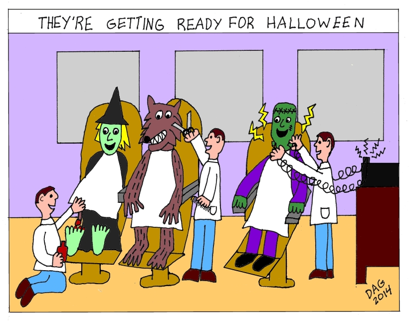 get ready halloween